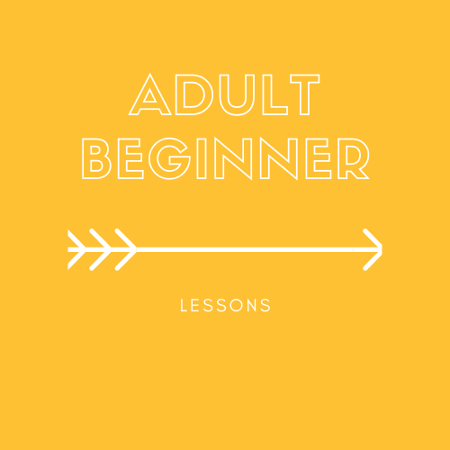Lessons - adult beginner